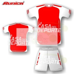 Set Arsenal Runick Rojo Blanco