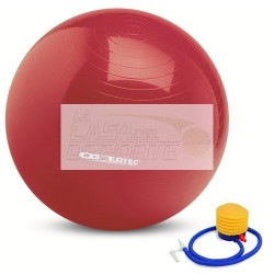 BALON PILATES 65 CMS COVERTEC CON BOMBIN