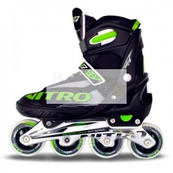 PATIN EUROROLLER NITRO REGULABLE SEVEN